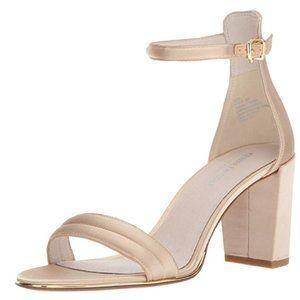 Kenneth Cole Lex sandal Block Heeled champagne